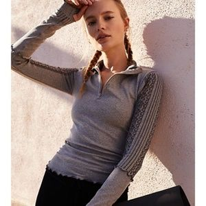 Free People Movement Seamless Femme Layering Top